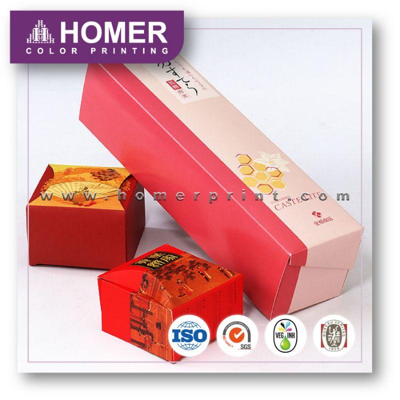 Hot Sale Stylish Custom Food Coated Paper Box