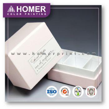 High Quality Stylish Square Velvet Gift Set Box