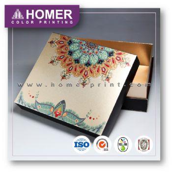 Fashionable Printed Pantone Cosmetic Gift Set Box