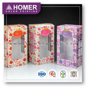 Factory Price Classic Square Custom Plastic Packaging