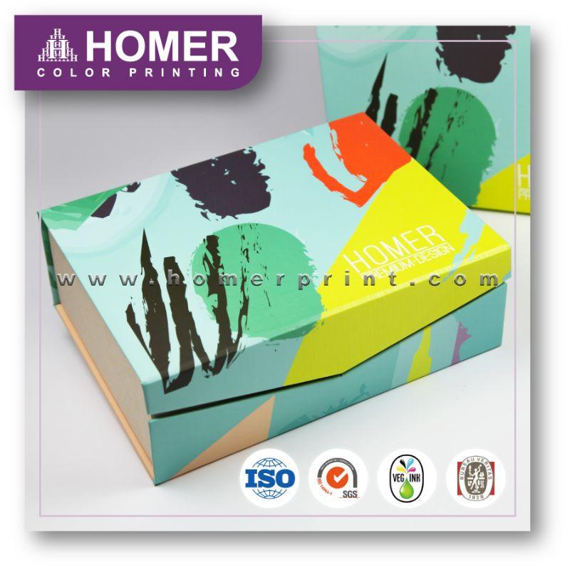Professional Custom High Quality Falt Folding Gift Box