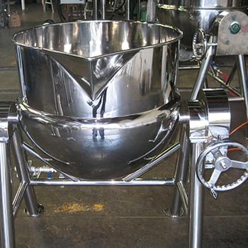 Hydraulic type Stirring & Scraping Pot