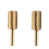 Nail carbide burs - Gold coating