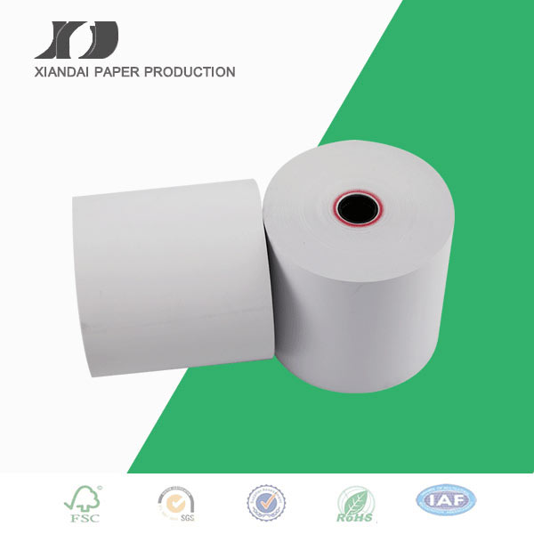 Single ply white bond roll