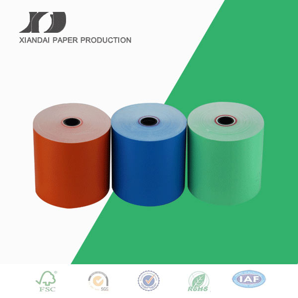Printed thermal paper rolls