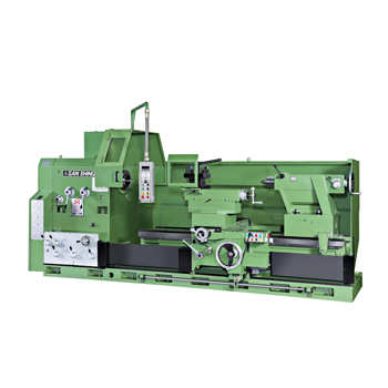 Frequency conversion lathe