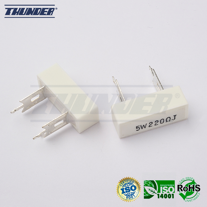 Fixed Wirewound Resistor (Cement Type)