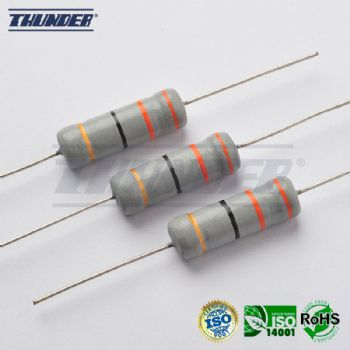 Fusible Wirewound Resistors, Flame Proof