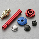 Bicycle turning parts, Suspension system