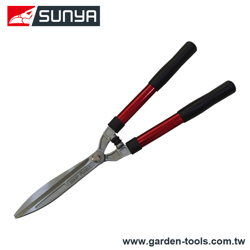 208018 Classic steel handle drop forged straight blade garden bush hedge shears