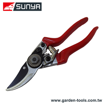 Professional bypass orchard flower vine safety lock replaceable hand pruner