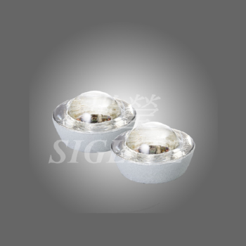 SIGLITE Bi-directional Brightness Enhanced Tempered Glass Road Stud, 17mm