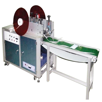 Mask tie tape welding machine