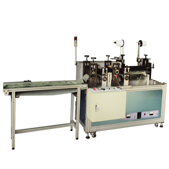 Nonwoven shoe cover making machine