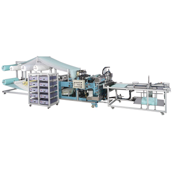 Filter bag sewing & Rewinding machine