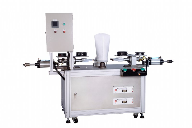 Liquid filter ring welding machine