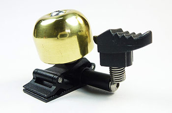 Mini Brass Bell with Arrow Hammer