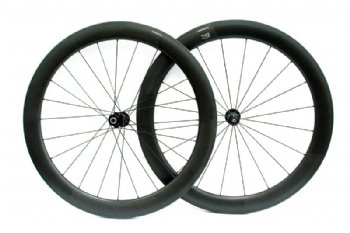 Full carbon  wheel set 58 mm profile w/ DT Swiss Hub & Sapim spoke
