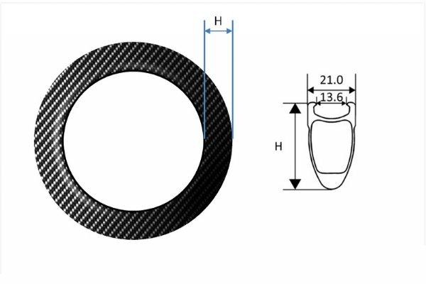 """Carbon Fiber Rims - 20"""""""