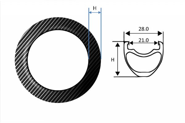 Carbon Fiber Rims – BMX