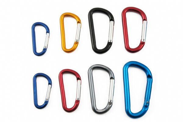 D Shaped Mini Carabiner