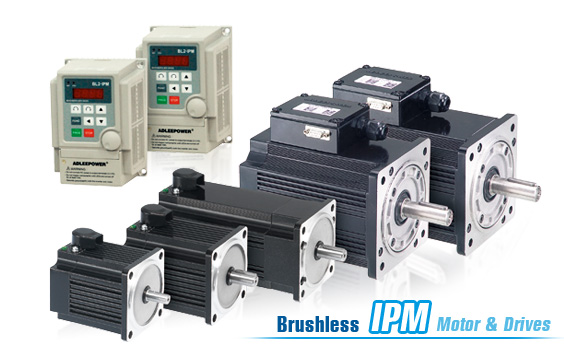 Brushless DC Motors with AC Driver