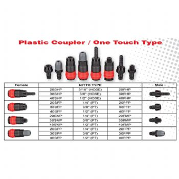 Plastic Coupler / One Touch Type