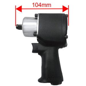 "1/2"" Mini Air Impact Wrench (Twin Hammer )"